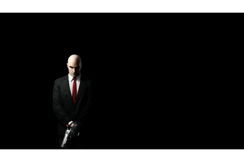 men, Hitman, Video Games, Gun, Weapon, Suits, Black, Black ...