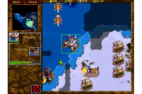 Warcraft 2: Tides of Darkness - Orc Campaign Gameplay ...
