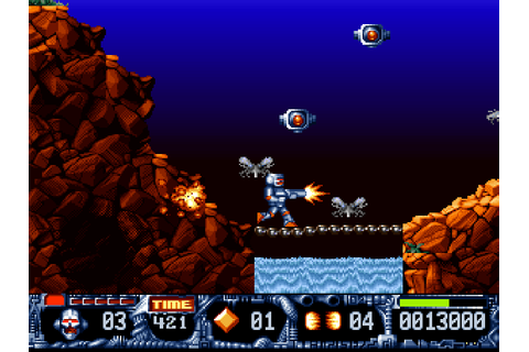 Download Turrican II: The Final Fight | DOS Games Archive