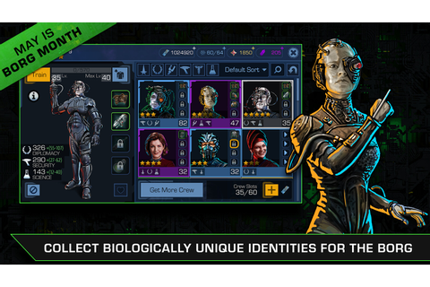 Star Trek Timelines mobile game debuts Borg-themed mega ...