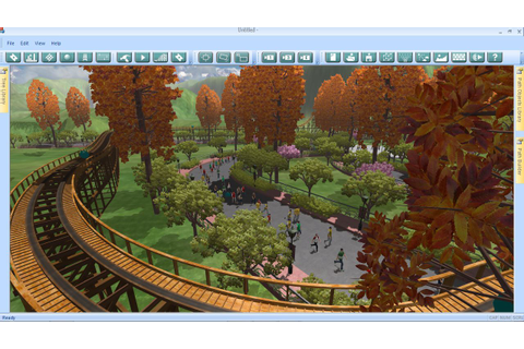 Download links for Theme Park Studio PC game