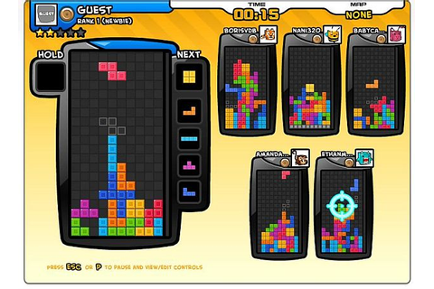Play 6-player Tetris over at Tetris Friends Online