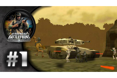 Star Wars Battlefront: Renegade Squadron (PSP) HD Gameplay ...