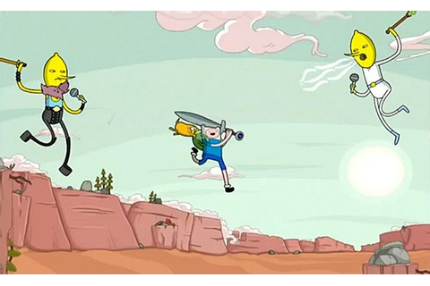 The 'Adventure Time: Rock Bandits' iOS Game Includes A ...