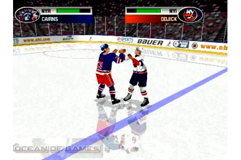 NHL 99 Free Download - Ocean Of Games