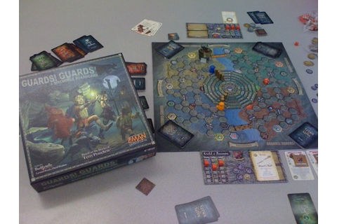 Guards! Guards! A Discworld Boardgame Review | Board Game ...