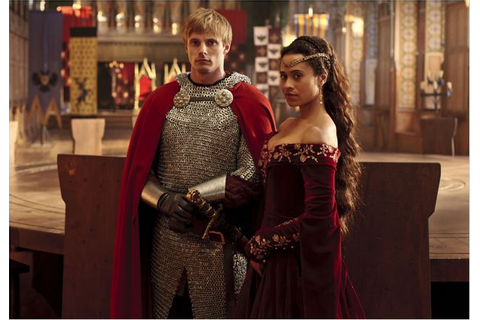 Merlin : Photo de Angel Coulby et Bradley James (II) 40 ...