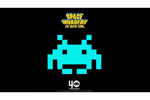 Space Invaders Gets an Official Board Game