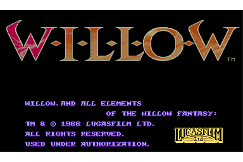 Play Willow Capcom CPS 1 online | Play retro games online ...
