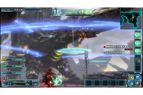 [PSV] Phantasy Star Nova - Combat Demo Gameplay - YouTube