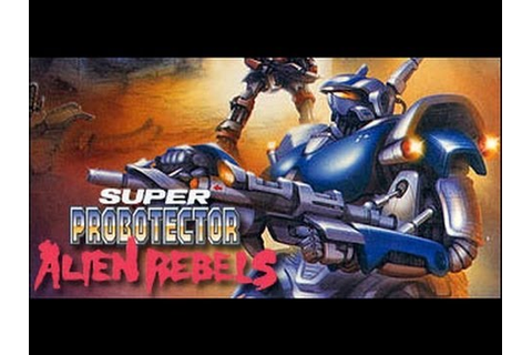 Super Probotector: The Alien Rebels (Super Nintendo) - YouTube