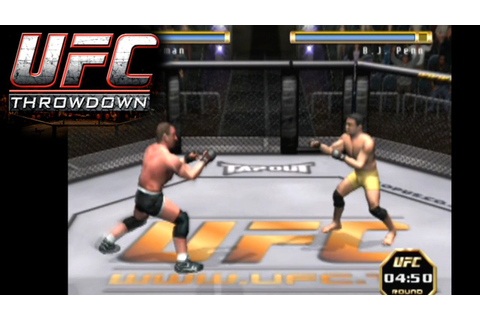 UFC: Throwdown ... (PS2) - YouTube