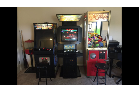 Moving Arcade Video Game & Claw Machine From Garage to ...