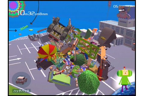 Katamari Damacy Review (PS2) | Satoshi Matrix's Blog