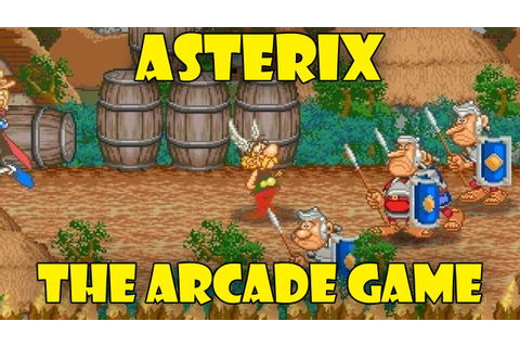Asterix: The arcade game - YouTube
