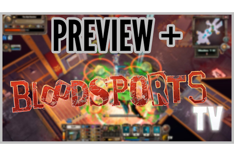 Preview + Bloodsports.TV - YouTube
