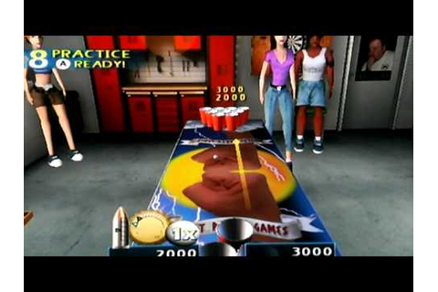 Pong Toss: Frat Party Games Co-review for Nintendo Wii ...