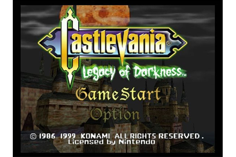 Castlevania: Legacy of Darkness Review for Nintendo 64 ...