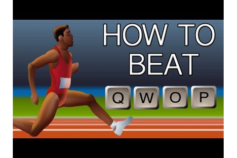 How to Beat QWOP - YouTube