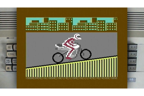 Eddie Kidd Jump Challenge on a Commodore 64 - YouTube