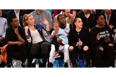 30 Times Celebrities Had a Blast Sitting Courtside ...