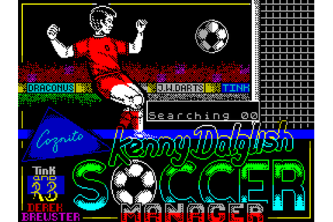Kenny Dalglish Soccer Manager (1989) by Zeppelin Games ...