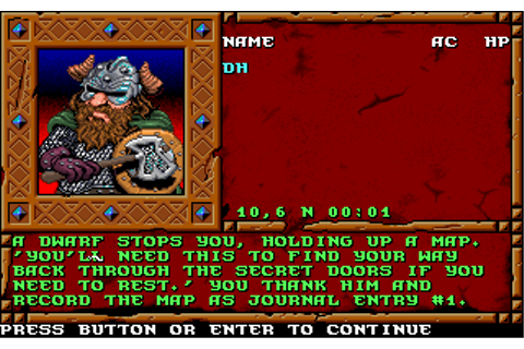 Treasures of The Savage Frontier | Old DOS Games ...