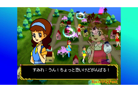 Majokko Daisakusen: Little Witching Mischiefs - Map 1 ...