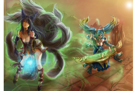 League Of Legends, Artwork, Video Games Wallpapers HD ...