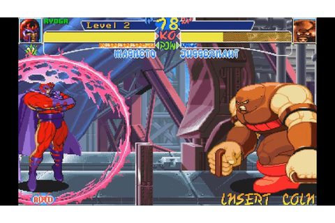 X-Men: Children Of The Atom (ARCADE CPS2) 1CC MAGNETO NO ...