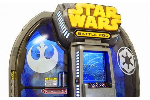 NYCC 2014: STAR WARS BATTLE POD Arcade Game Will Let Fans ...