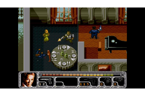 True Lies ... Gameplay - (Sega Genesis) - YouTube