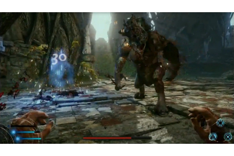 Lichdom: Battlemage - Taking Down a Boss With Magic Combos ...