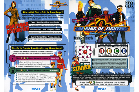 The King of Fighters '99: Millennium Battle Details ...