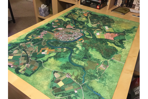 Wings of Glory Game Mat Coast Board Game – medmind.co.uk