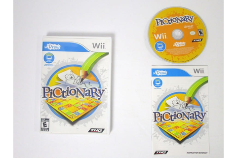 Pictionary game for Wii (Complete) | The Game Guy