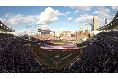 2014 MLB All-Star Game National Anthem/Fly Over - YouTube