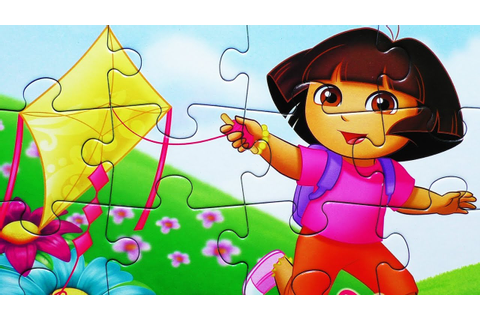 Dora the Explorer Puzzle Games Toys Learning Activities ...
