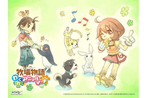 Harvest Moon: Animal Parade official artwork | Harvest ...