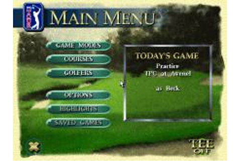 PGA Tour 96 Download (1995 Sports Game)