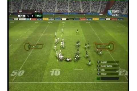Rugby World Cup 2011 video game Review - YouTube