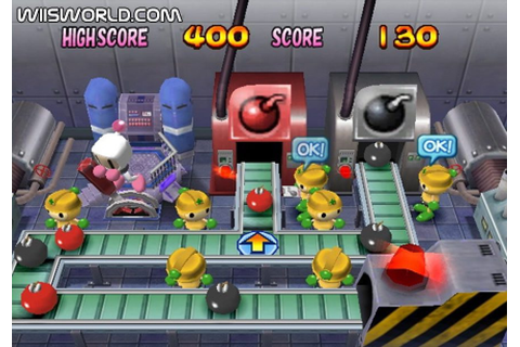 Bomberman Land (2007) by Hudson Soft Wii game