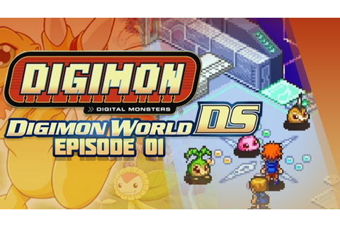 Digimon World DS - Ep 1 - First Digimon & DigiFarm! - YouTube