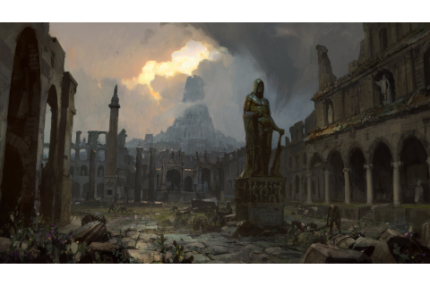 Path of Exile, Digital art, Video games, Ruins Wallpapers ...