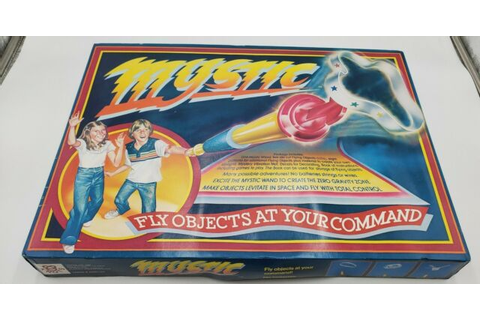 NOS Vintage Mystic Fly Objects Zero Gravity Wand Game by ...