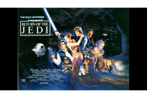 Star Wars Return Of The Jedi Soundtrack: Battle Of Endor ...