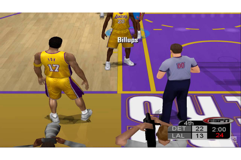 ESPN NBA Basketball PS2 Gameplay HD - YouTube