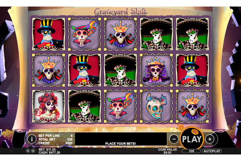 Graveyard Shift - Pragmatic Play | FREE casino slots ...