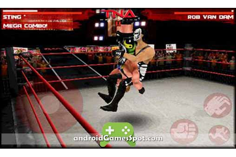 TNA WRESTLING IMPACT APK Free Download