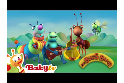 La canción de la Big Bugs Band, BabyTV Español - YouTube